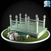 architectural modules 3d model