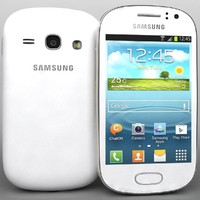 3d samsung galaxy fame s6810 model