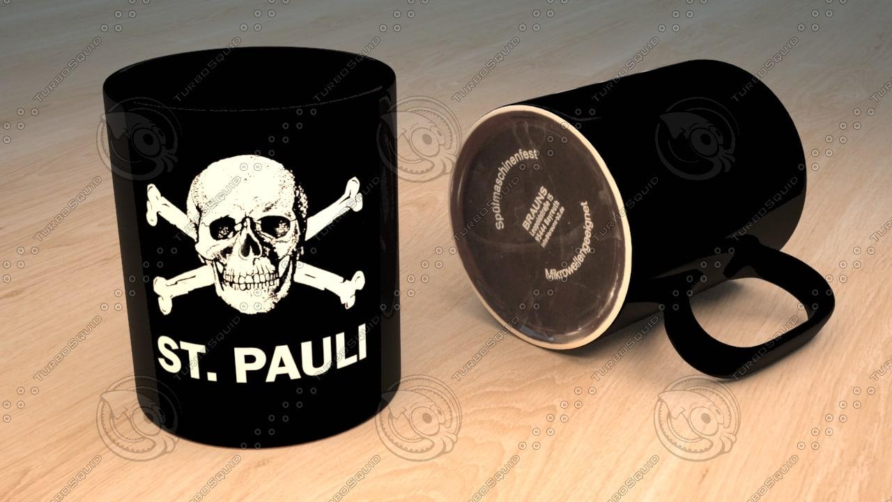 free max mode st pauli mug