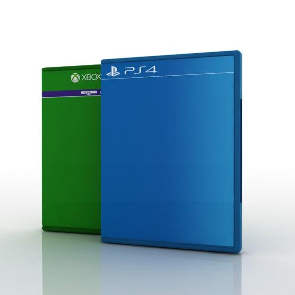 3d dvd box case model