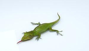 3d model camaleón chamaleon