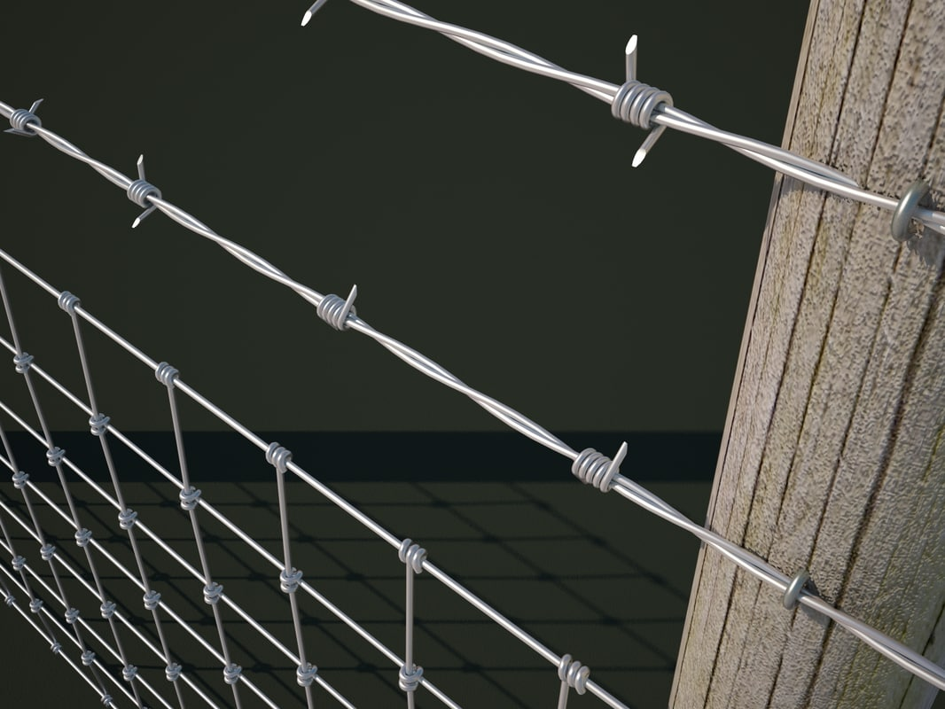 Barbed Wire 3d Model Max Center Figure 435rc Integrator Circuit Images Gallery