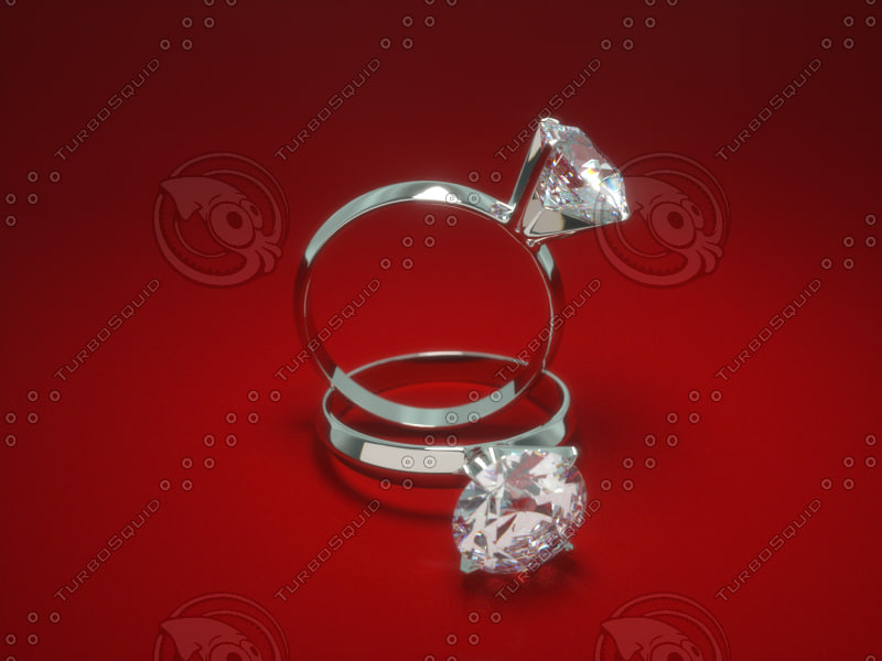 3d jewelry engagement ring