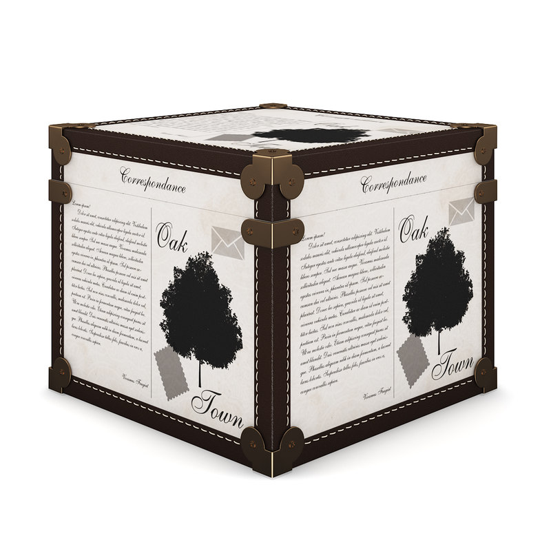 c4d decorative box