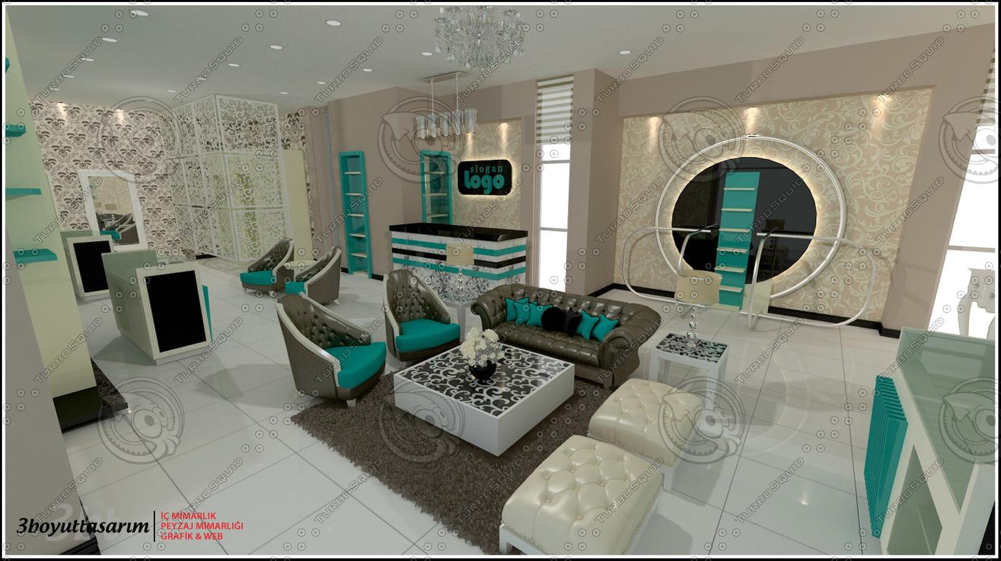 3dsmax shopping design