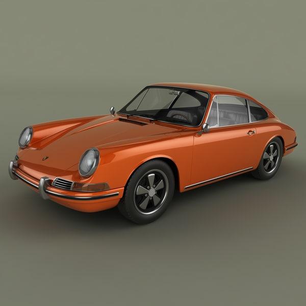 3d porsche 911 901 model