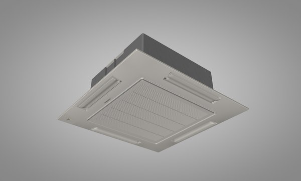 3ds max panasonic ceiling air conditioner
