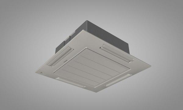 3ds max panasonic ceiling air conditioner