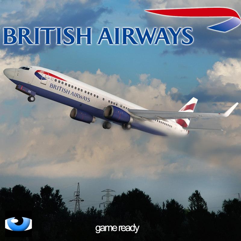 xsi british 737-800