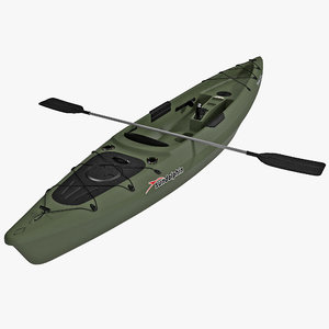 fishing kayak sun dolphin 3d 3ds