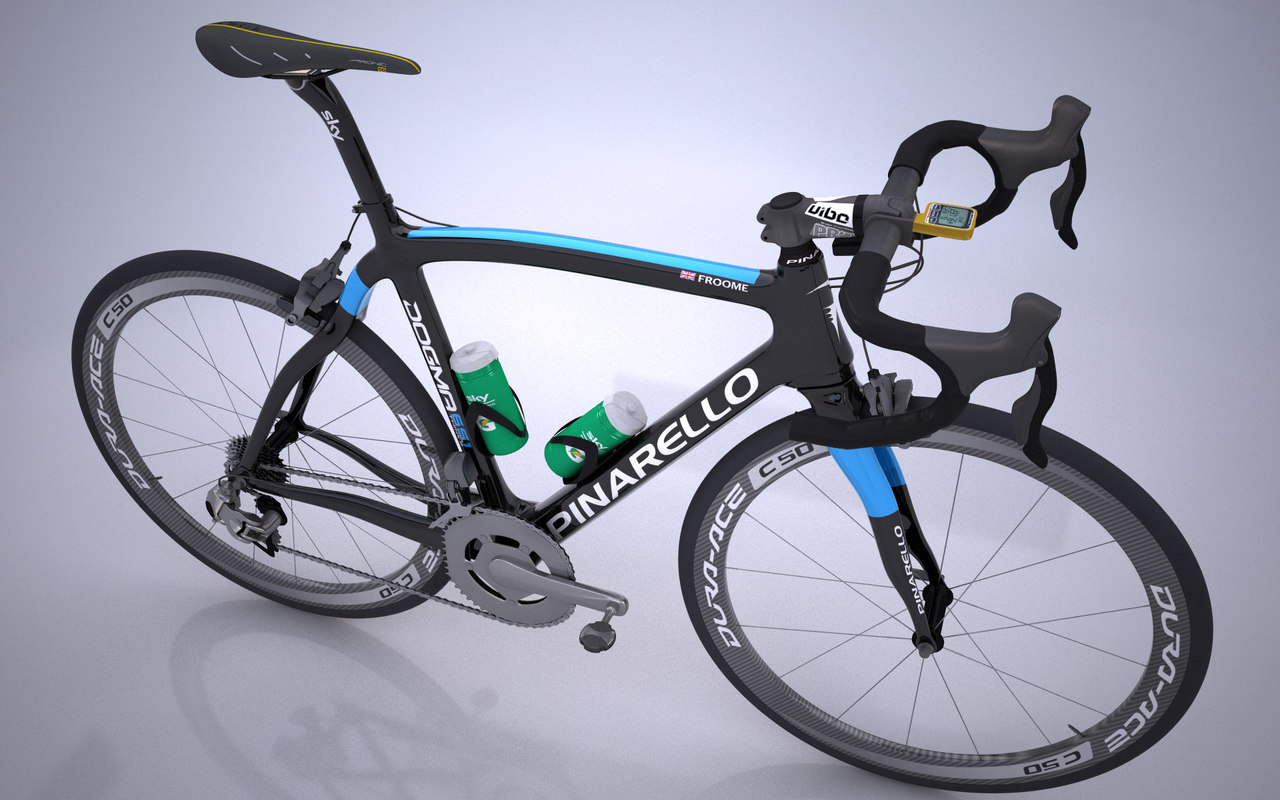 pinarello dogma bicycle team c4d