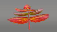 oregon grape leaf obj
