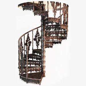 3d stair designed