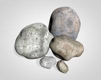 3d stone landscape