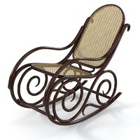 Vitra Schaukelsessel  no 9 Rocking Chair