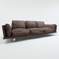 Arflex - sled-base sofa