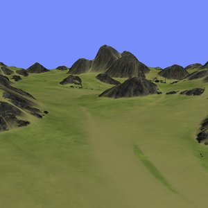metay terrain km-07 3d max