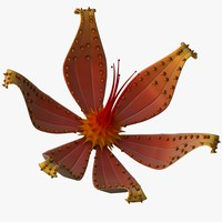 3ds max flower monster