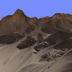 terrain alm-05 3d model