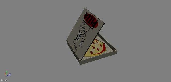 3ds pizza box