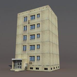 3d max building post