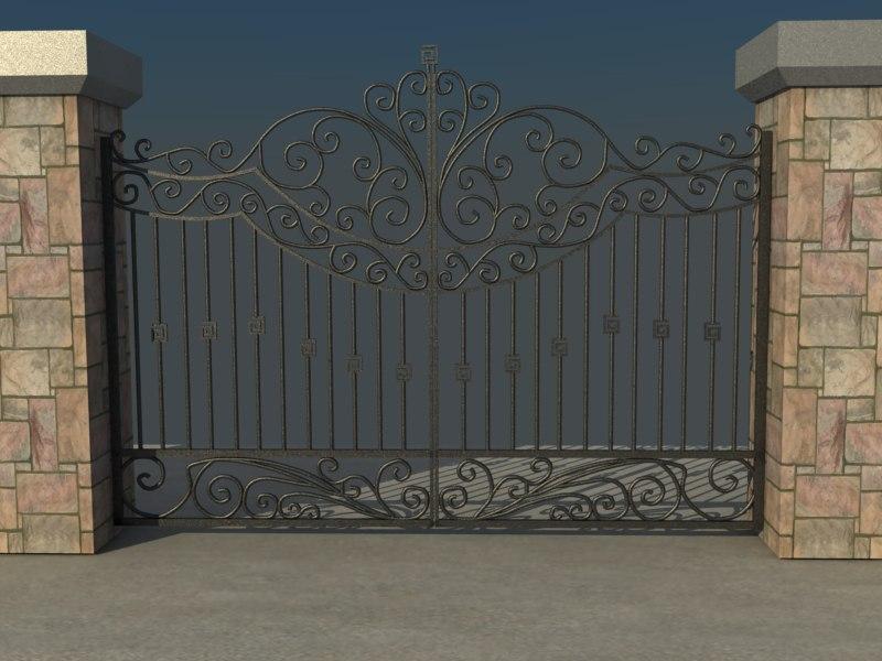 3ds max gate vol4