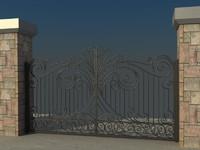gate vol5 3d model
