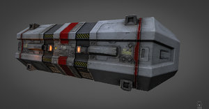 3d ready space polys model