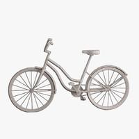simple bike 3d max