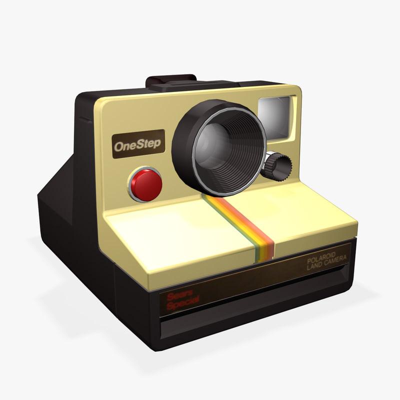 3ds max polaroid camera