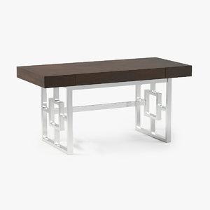 3d lexington rogers writing desk