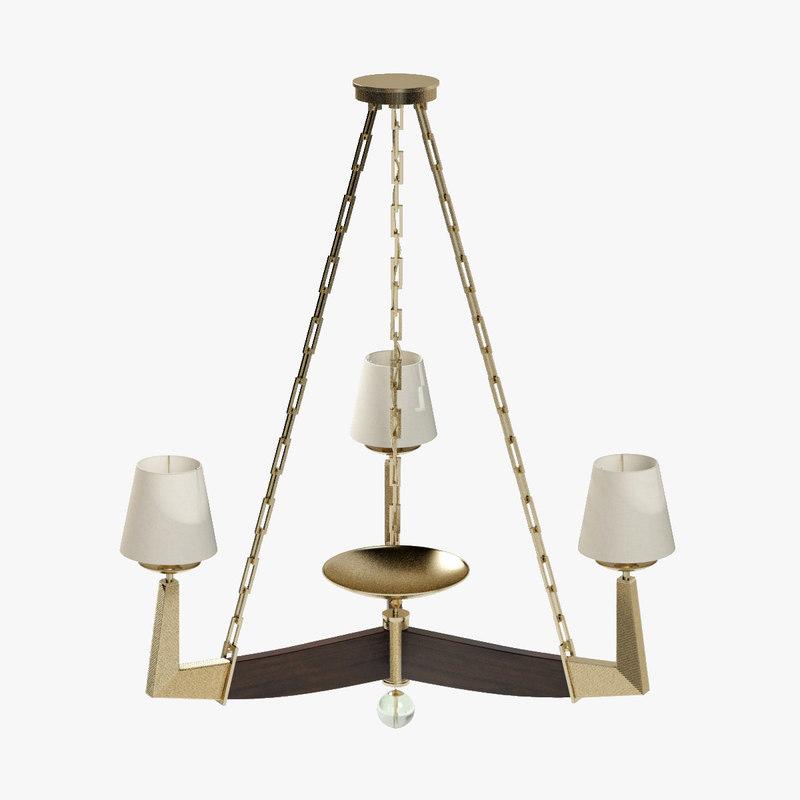 max baker moderne chandelier