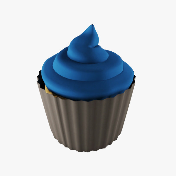 cup cake 03 3d max