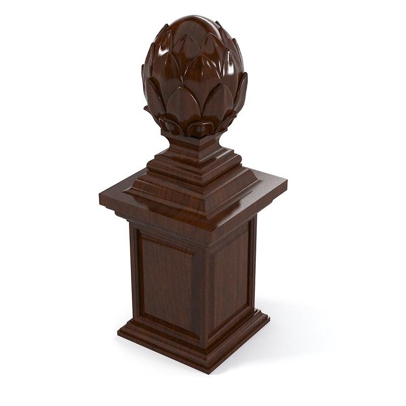 3ds max cone decorative