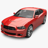 3d dodge charger srt8 model