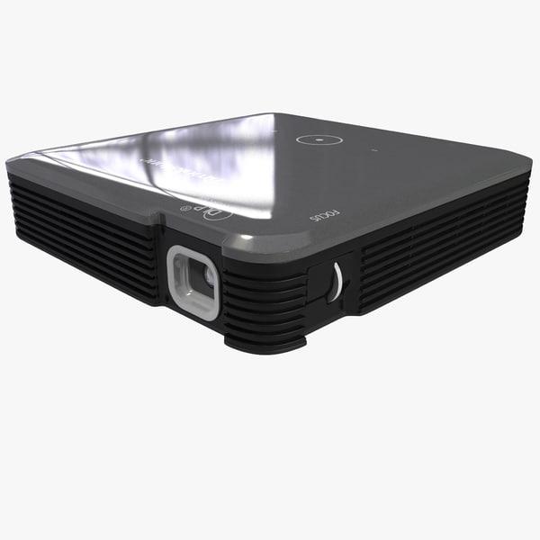 3d model hdmi pocket projector