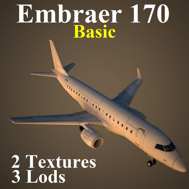 3d model embraer basic