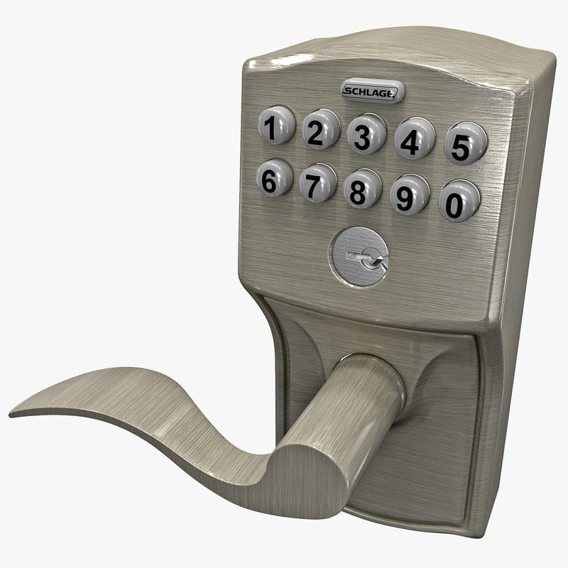 max keypad door lock