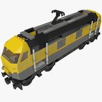 lego train obj