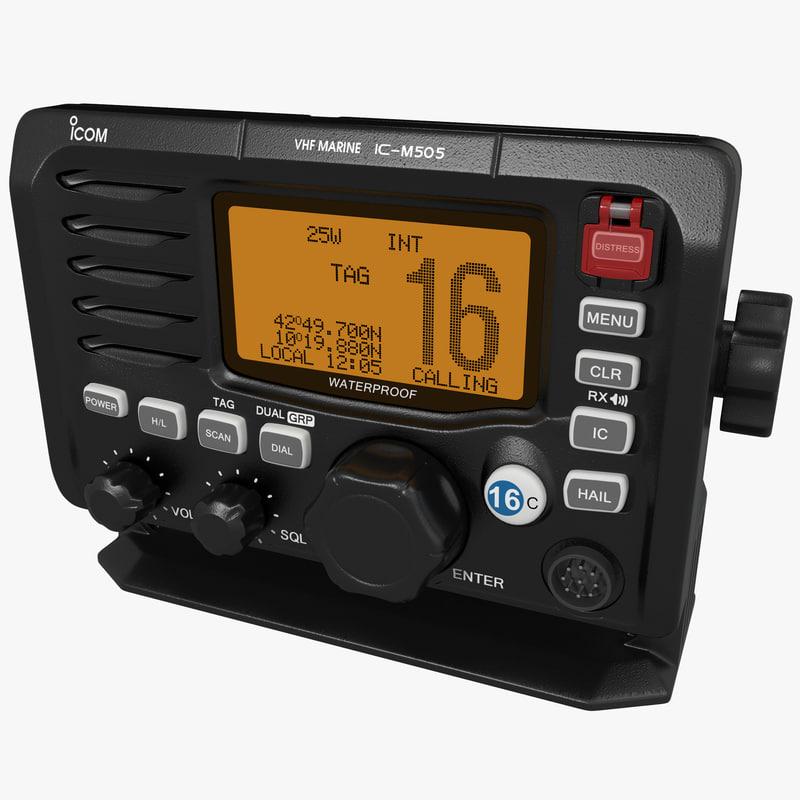 marine transceiver icom 3d ma