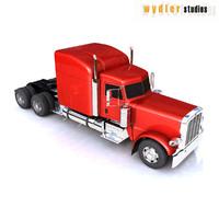 389 truck heavy 3d max