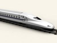 3d model shinknsen n700