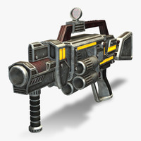 Grenade Launcher (Rigged)