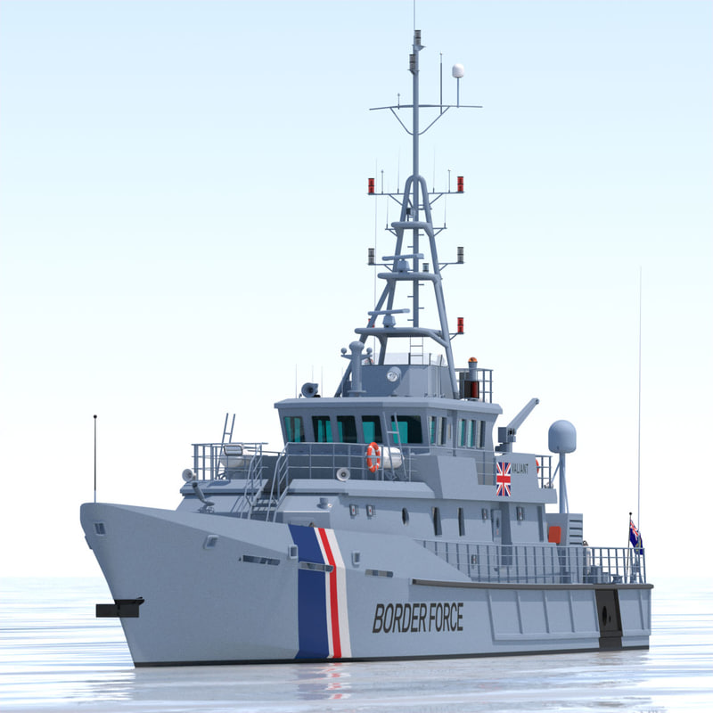 3d 3ds ukba 42m customs cutter