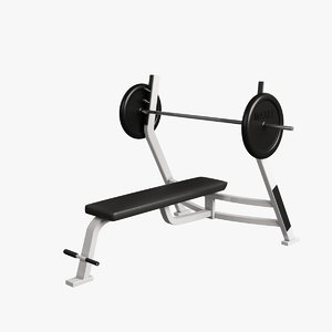 fitness supine bench max
