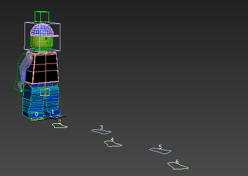 lego men 3d model