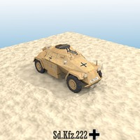 Sd.Kfz.222 Armoured Car