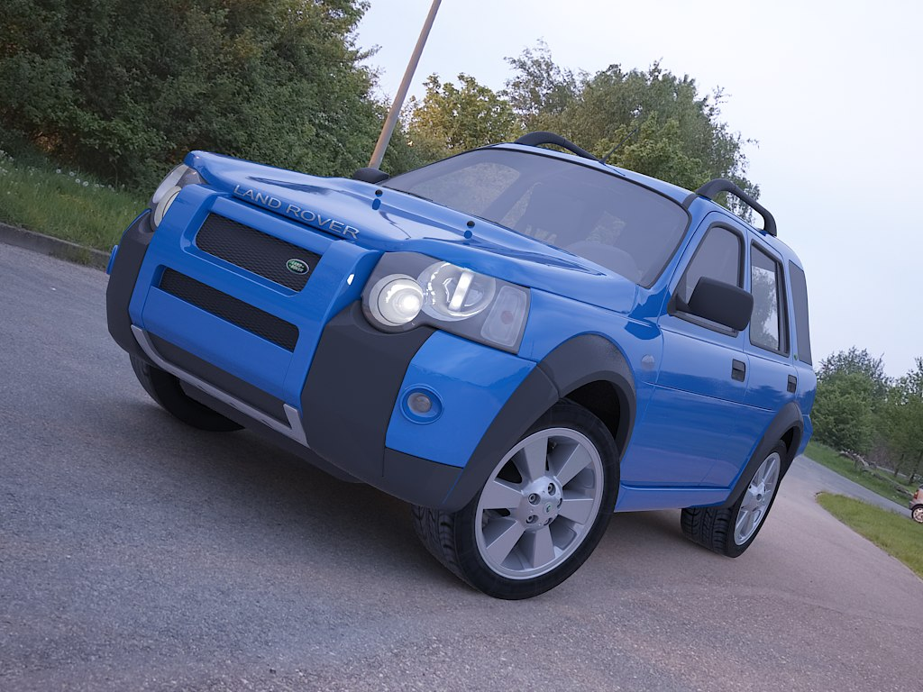 3ds land rover freelander
