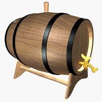 artisty barrels 3d max