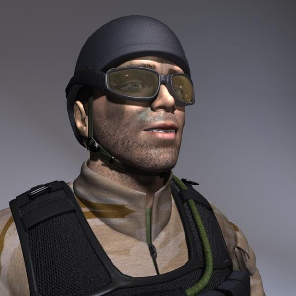 ma military man male